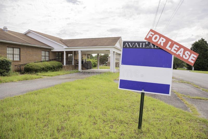 Real Estate egenskap f?r arrende royaltyfri fotografi