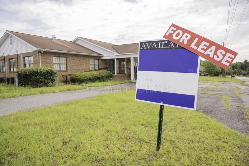 Real Estate egenskap f?r arrende royaltyfri bild