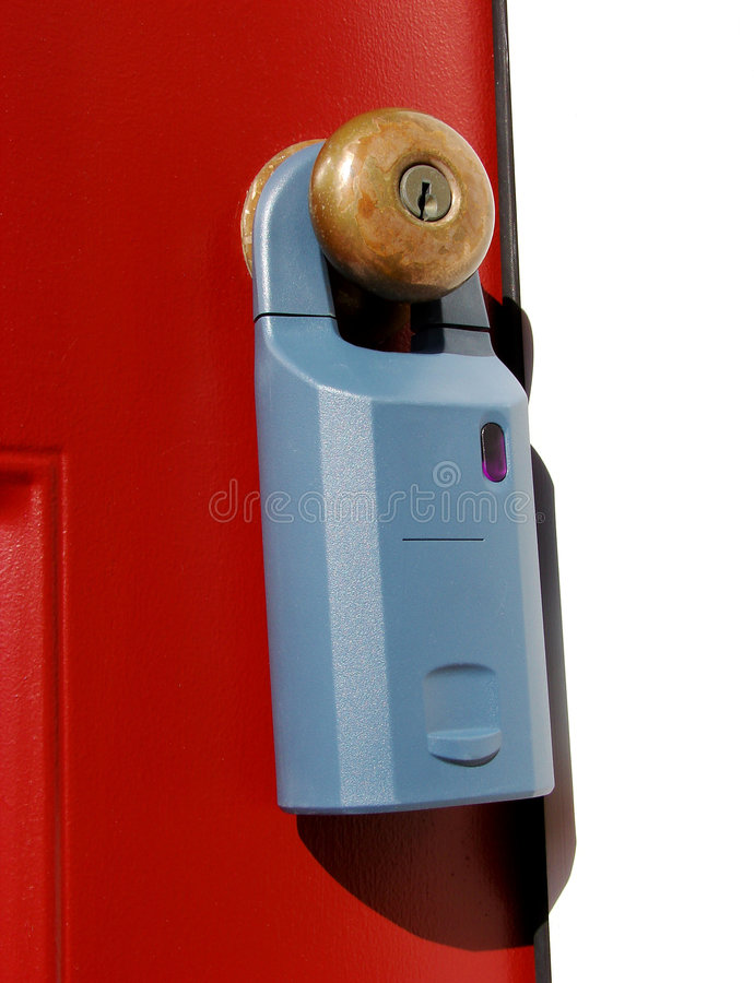 Download Real Estate Electronic Lock Box On A Door Stock Photo - Image of house  sc 1 st  Dreamstime.com & Real Estate Electronic Lock Box On A Door Stock Photo - Image of ...