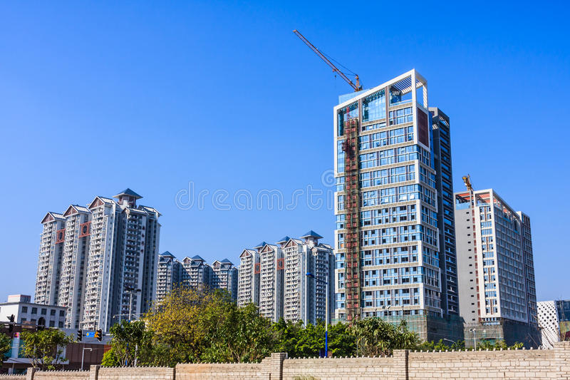 Real Estate en Guangzhou fotografía de archivo libre de regalías