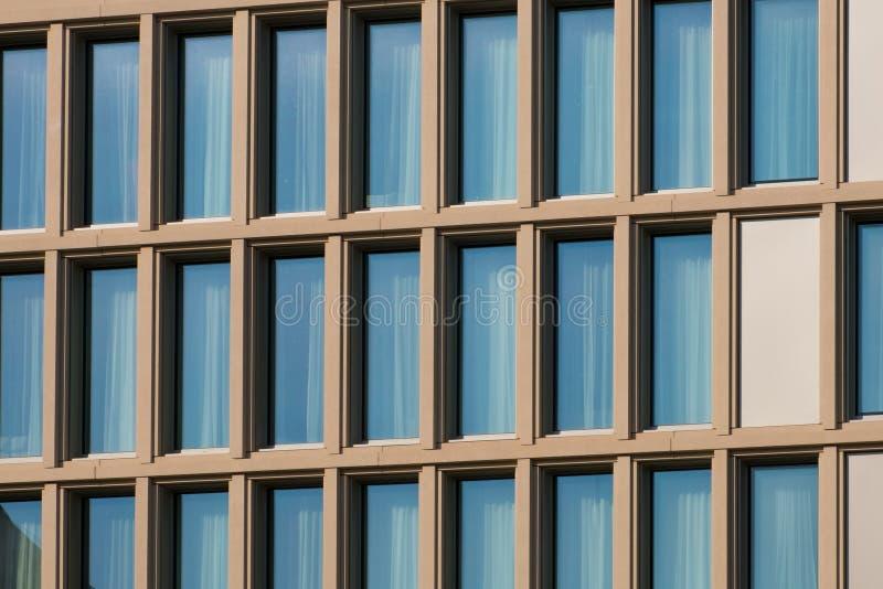 Real estate exterior - modern architecture building facade - royalty free stock photos