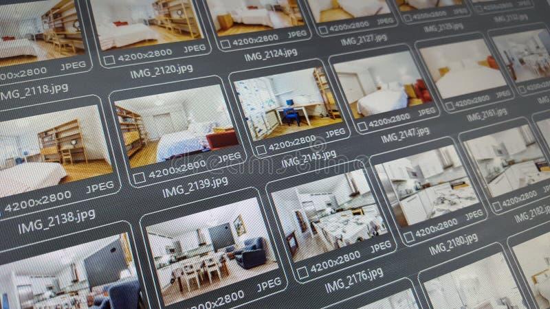 Real Estate fotografie fotografia stock