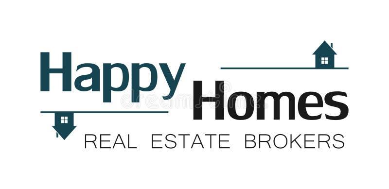Real estate house logo (3) stock photos