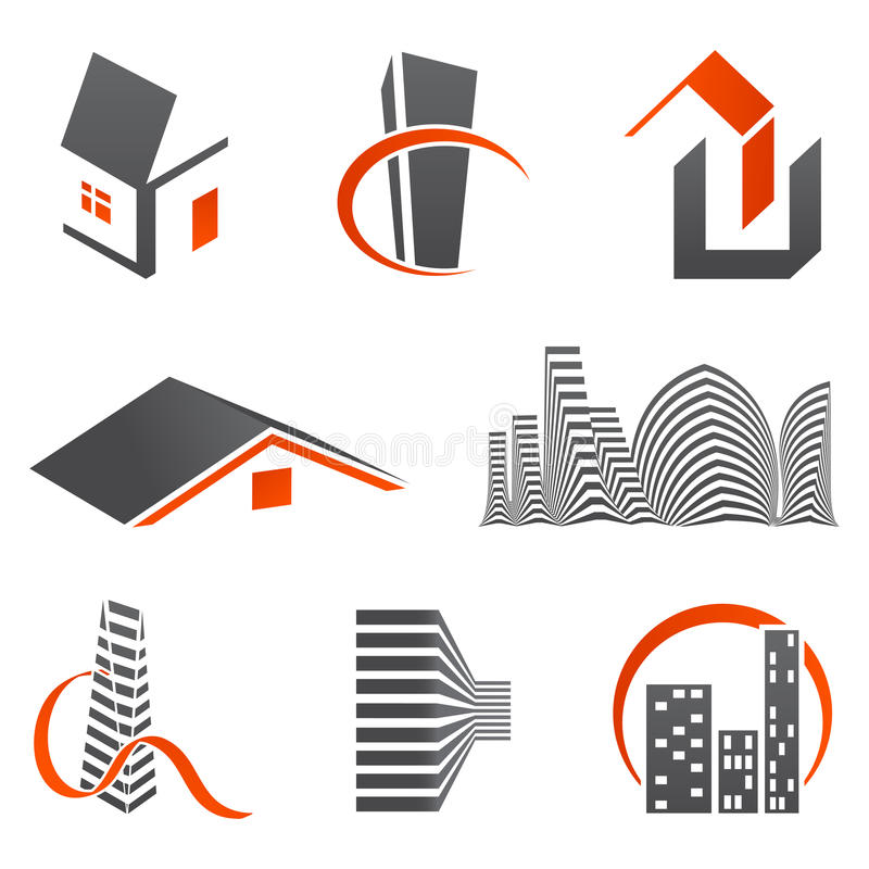 Download Real Estate Icons Royalty Free Stock Photos - Image: 12331938