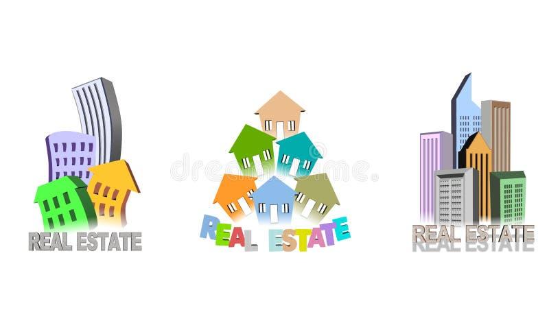 Real estate illustration vector illustration