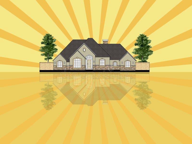 Download Real estate illustration stock illustration. Image of clipart - 3396170