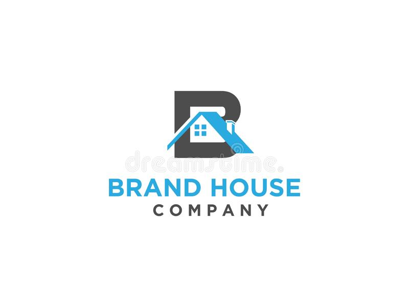 Real Estate Initials B Roof Logo Stock Vector Illustration Of Graphic Creative 127104384