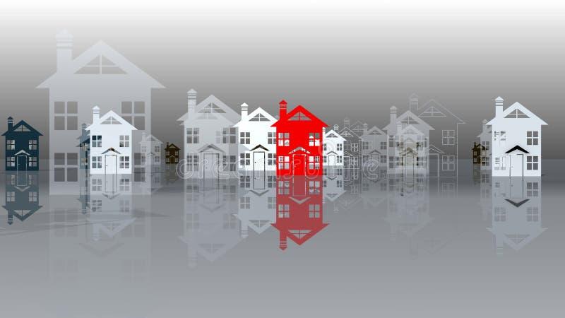 Real estate Leader vector illustration
