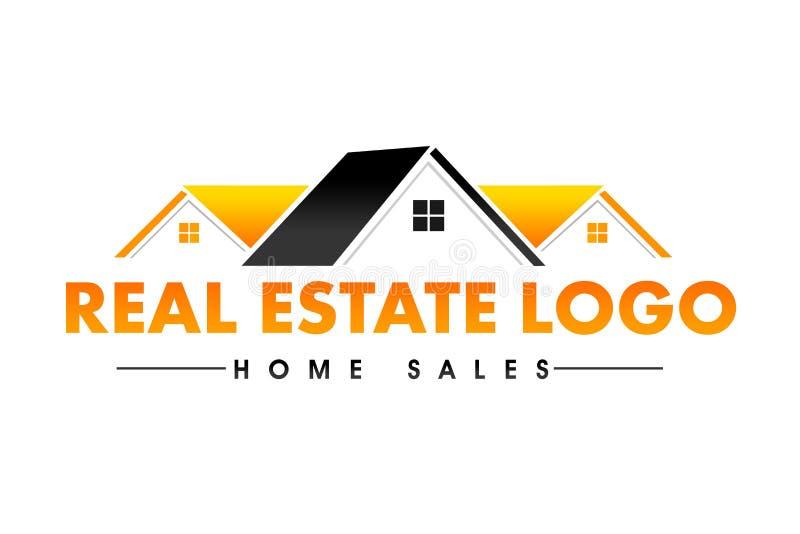 Real Estate logo ilustracji