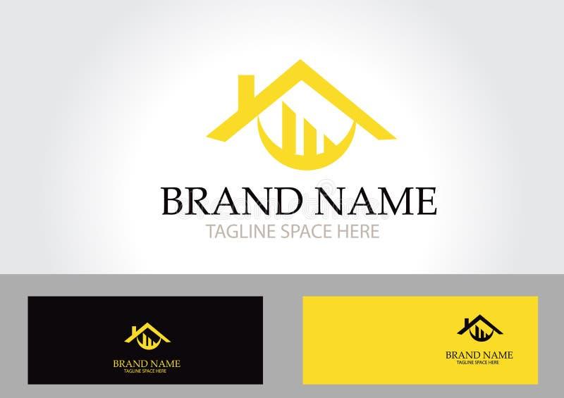 Real Estate Logo Design royalty illustrazione gratis