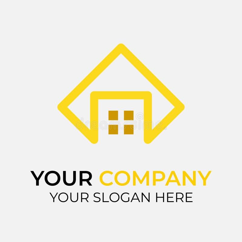 Real Estate Logo Design illustration stock