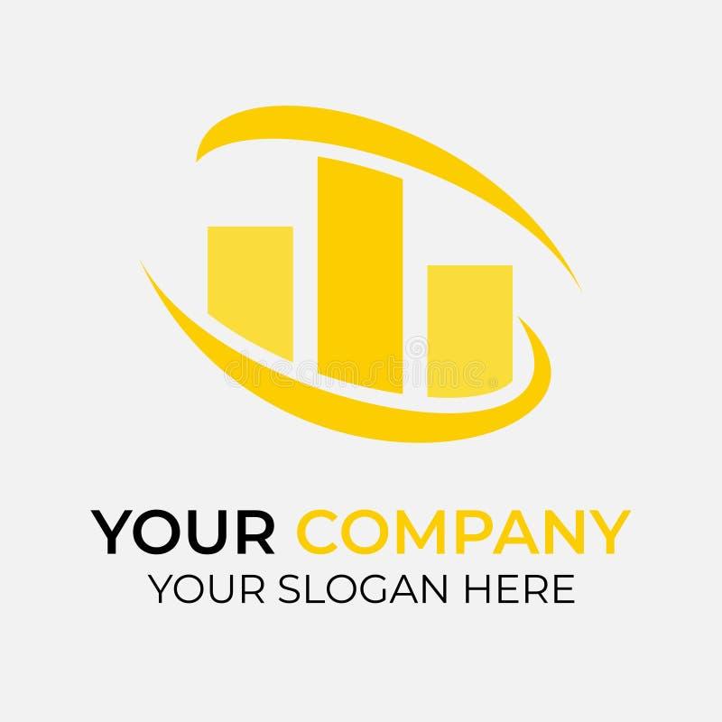 Real Estate Logo Design vektor illustrationer