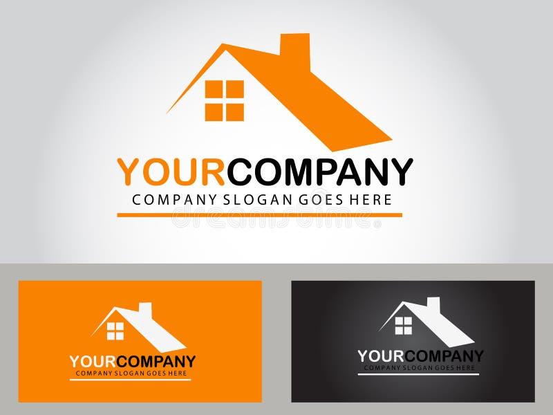 Real estate logo design royalty free stock photos