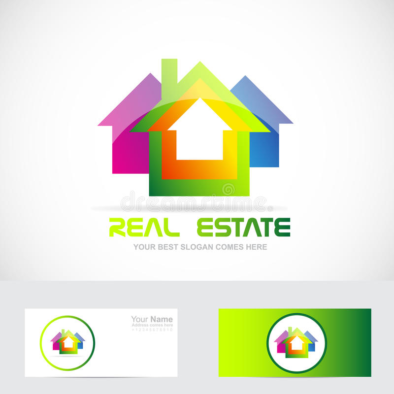 Real Estate Logo Stock Vector. Illustration Of Logotype