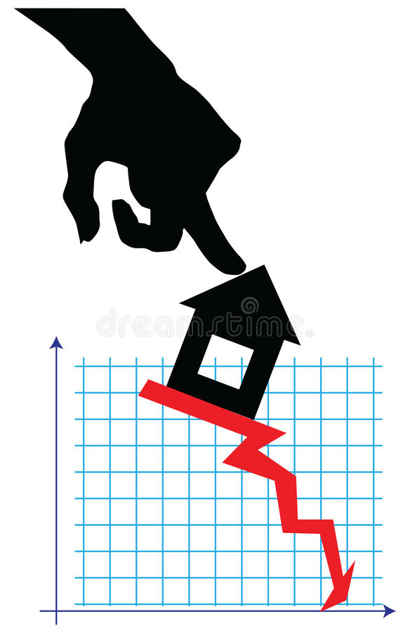 Download Real estate market stock vector. Illustration of situation - 25982996