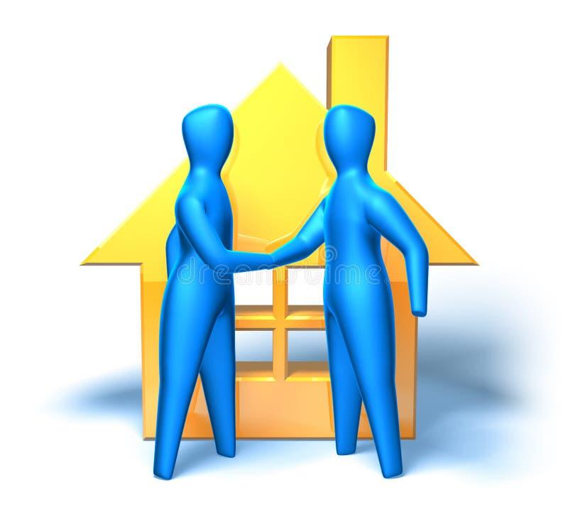 Download Real estate market stock illustration. Image of burglary - 2923503