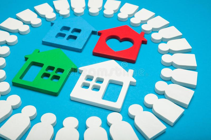 Real estate market, home assessment.  stock photography