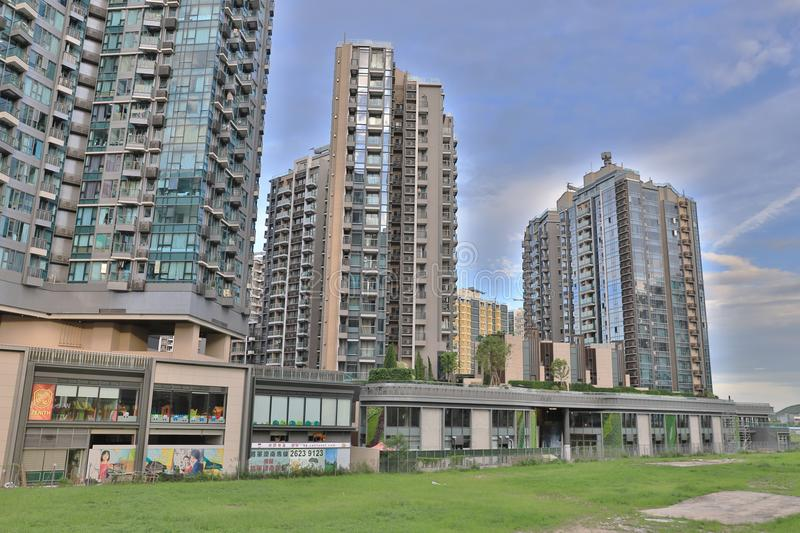 High Rise Condominiums, Residential Building, TKO royalty free stock photos