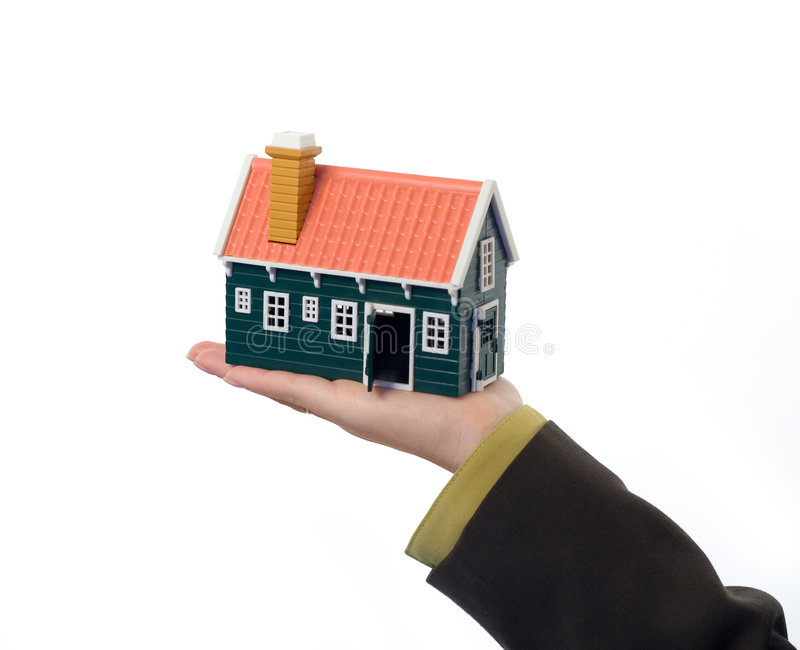 Real estate offer stock photography
