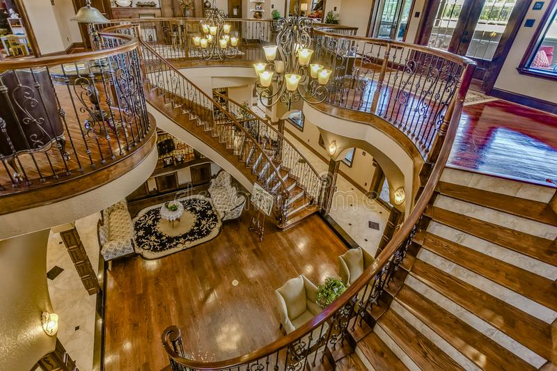 Real Estate Photography of Homes For Sale. Lovely homes for sale in the area and the photos to go along with them. These are real estate photos of homes in Texas stock photo
