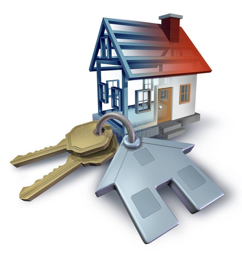Real Estate-Planning stock illustratie