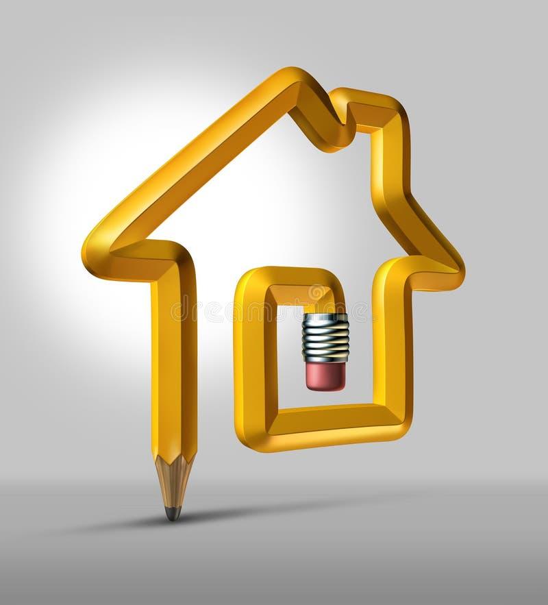 Real Estate projeta ilustração do vetor