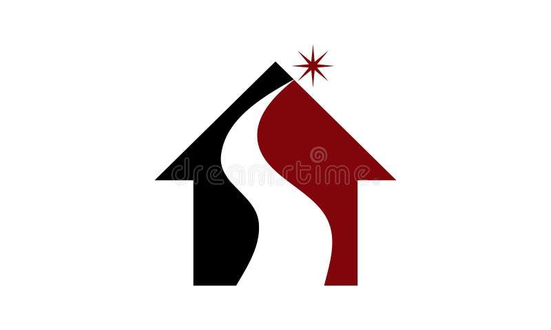 Real Estate rozwiązania Początkowy S ilustracji