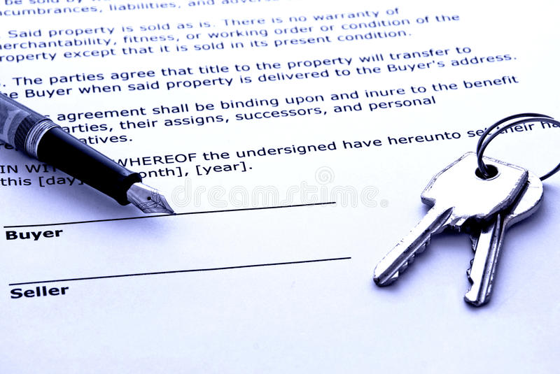Download Real estate sale stock photo. Image of contract, completion - 13957612