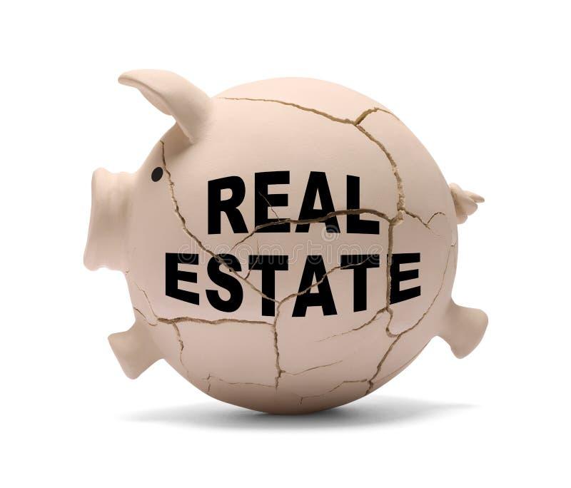 Real Estate-Schwein lizenzfreie stockfotos