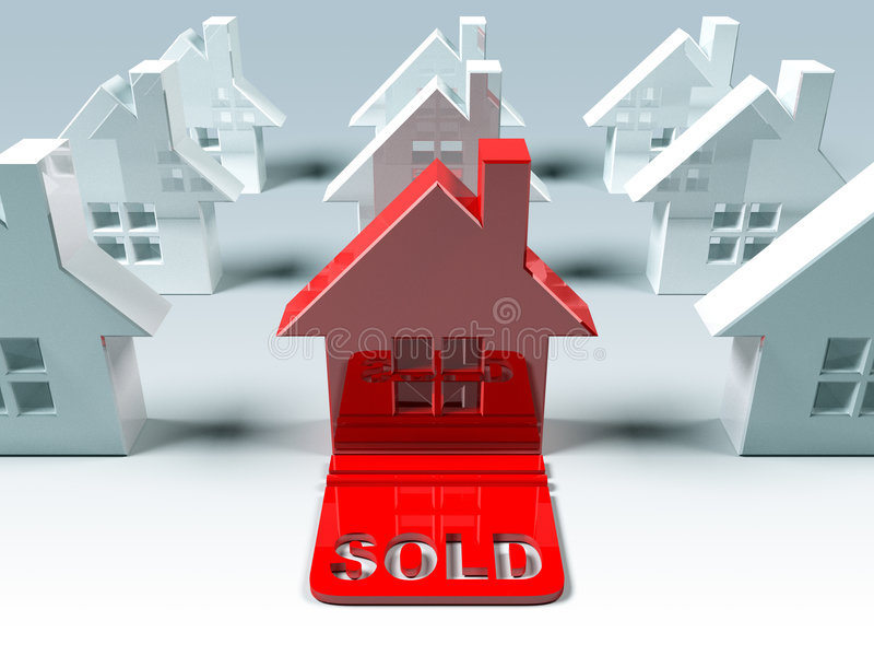 Real Estate : Sold Stock Images
