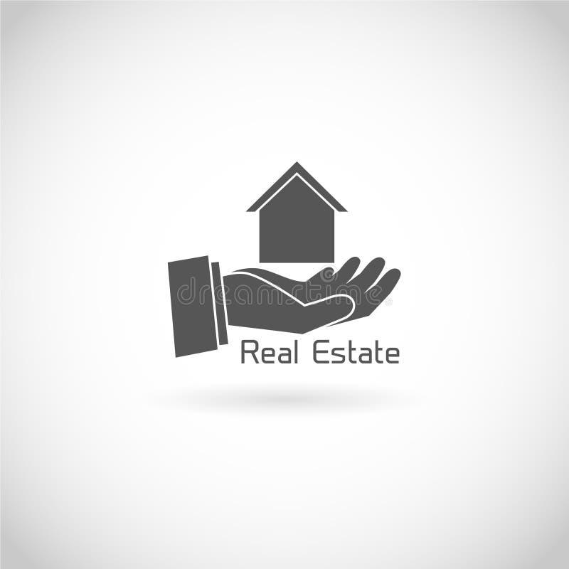 Real estate symbol stock illustration