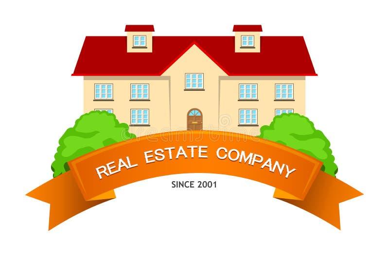 Real Estate symbolisent illustration de vecteur