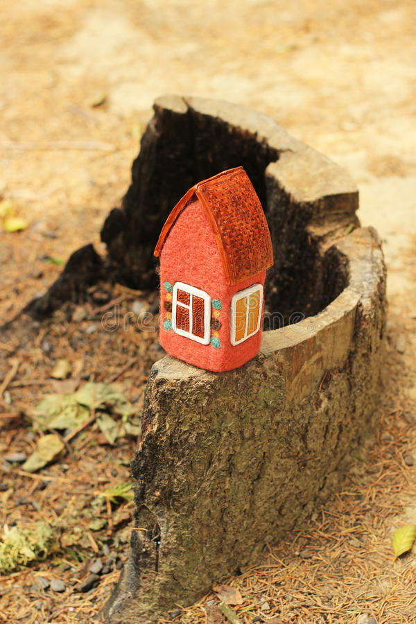 Real estate, toy house royalty free stock images