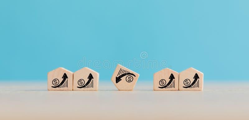 Real Estate- und Grundbesitz-Markt-Konzept stockfoto
