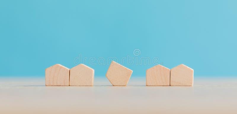 Real Estate- und Grundbesitz-Markt-Konzept lizenzfreie stockbilder
