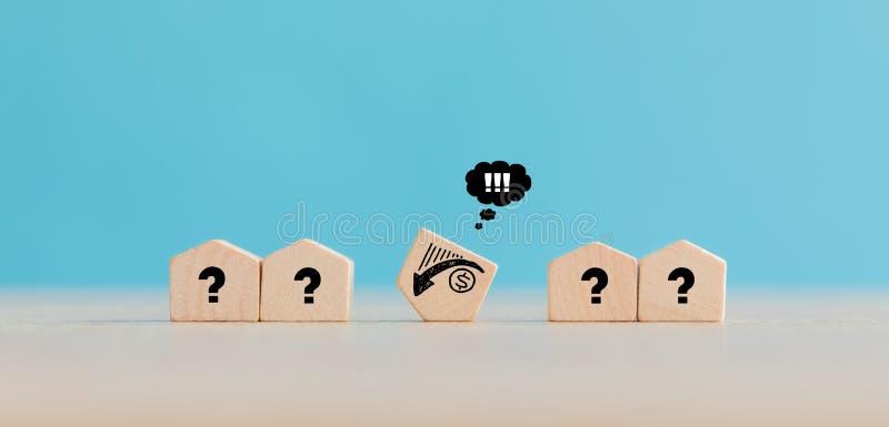 Real Estate- und Grundbesitz-Markt-Konzept lizenzfreie stockfotografie