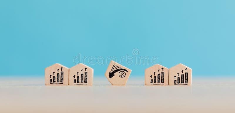 Real Estate- und Grundbesitz-Markt-Konzept lizenzfreies stockfoto