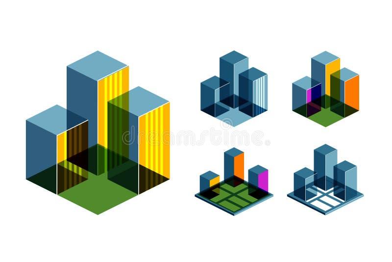 Real Estate vector logo design template. Business vector illustration