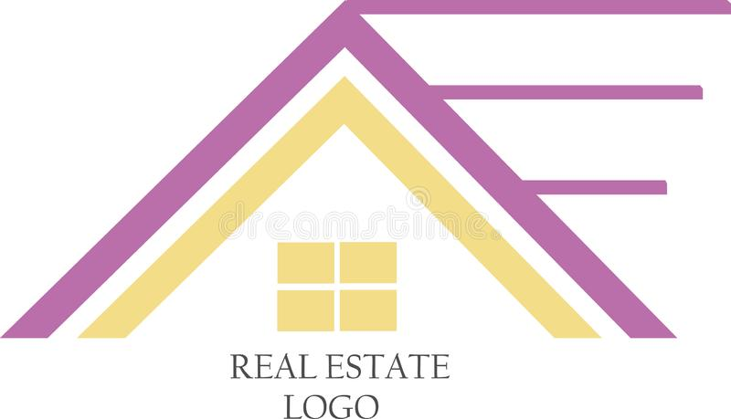Real Estate Vector Templates stock images