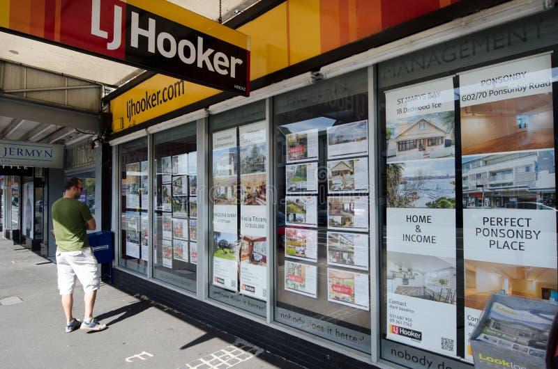 Real Estate W Auckland Nowa Zelandia NZ NZL zdjęcia royalty free