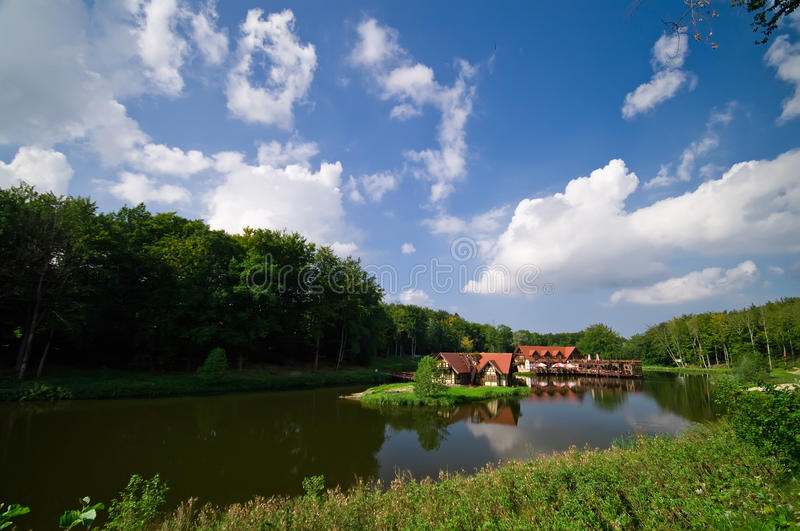 Download Real estate on water stock image. Image of estate, charlotte - 16012211