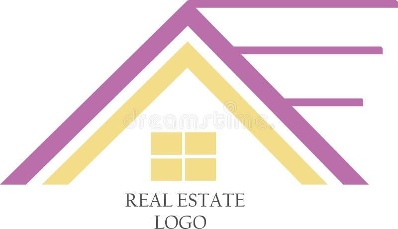 Real Estate wektoru szablony obrazy stock