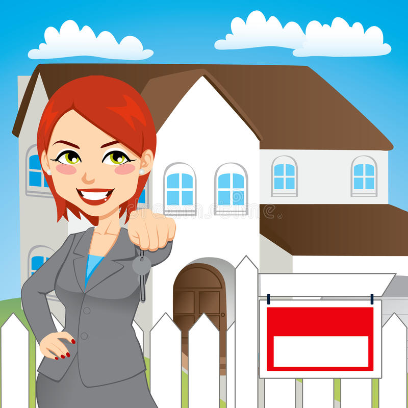 Download Real Estate Woman Stock Photos - Image: 25836413