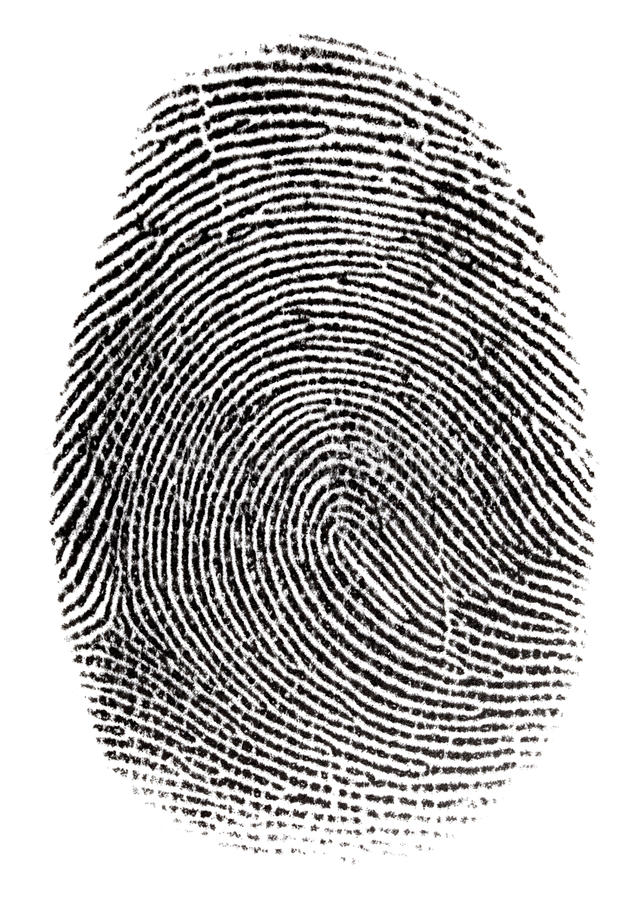 Free Real Fingerprint Stock Photography - 25787622