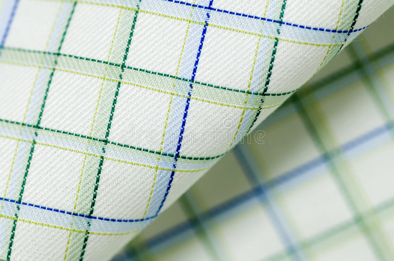 Download Real gridded fabric stock photo. Image of covering, fabric - 7486048