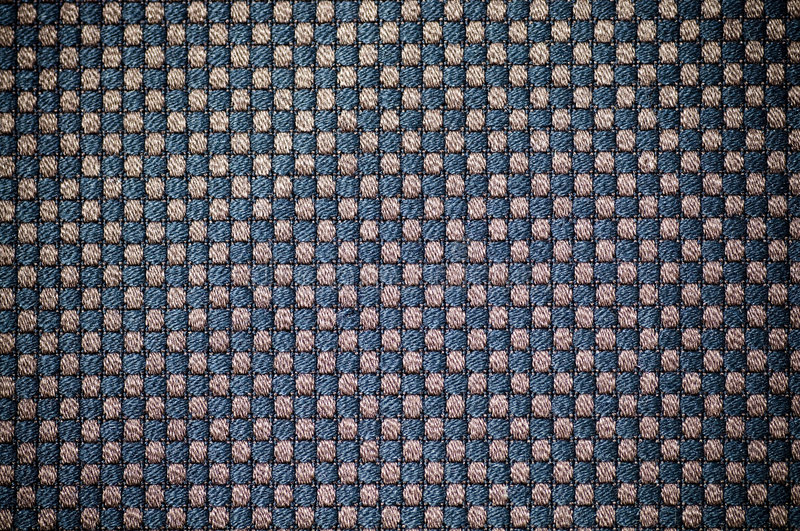 Real gridded fabric. Close up real gridded fabric royalty free stock photos