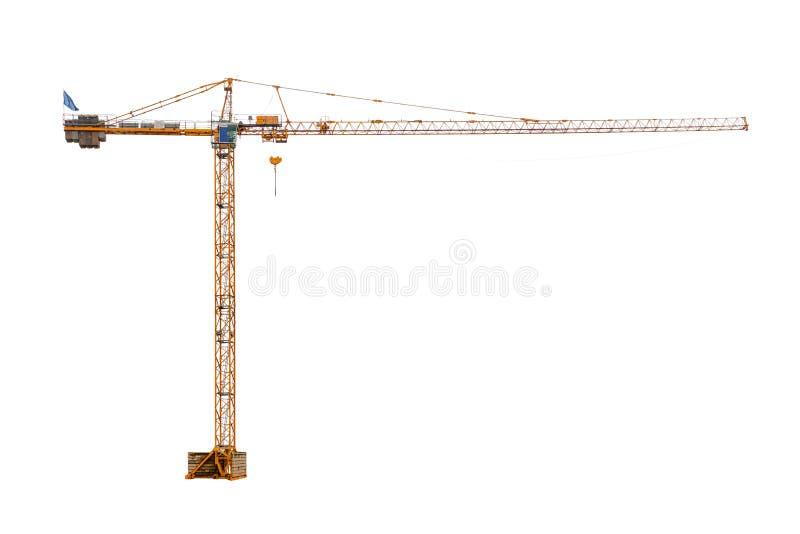 real high construction cran stock image