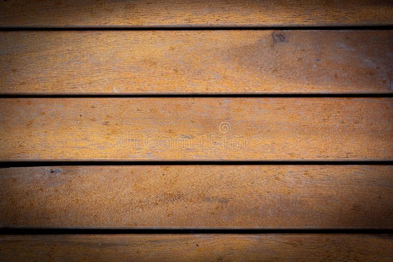 Texture of Grunge Brown Wooden Bars for Background. Real image of wooden bars texture with brown color for abstract background royalty free stock photography