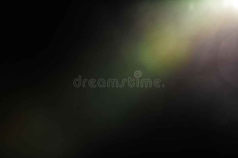 Real Lens Flare Studio Shot Easy to add as Filter over Photos royalty free stock photos