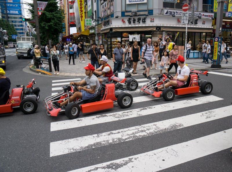 Real life Mario Kart stock images